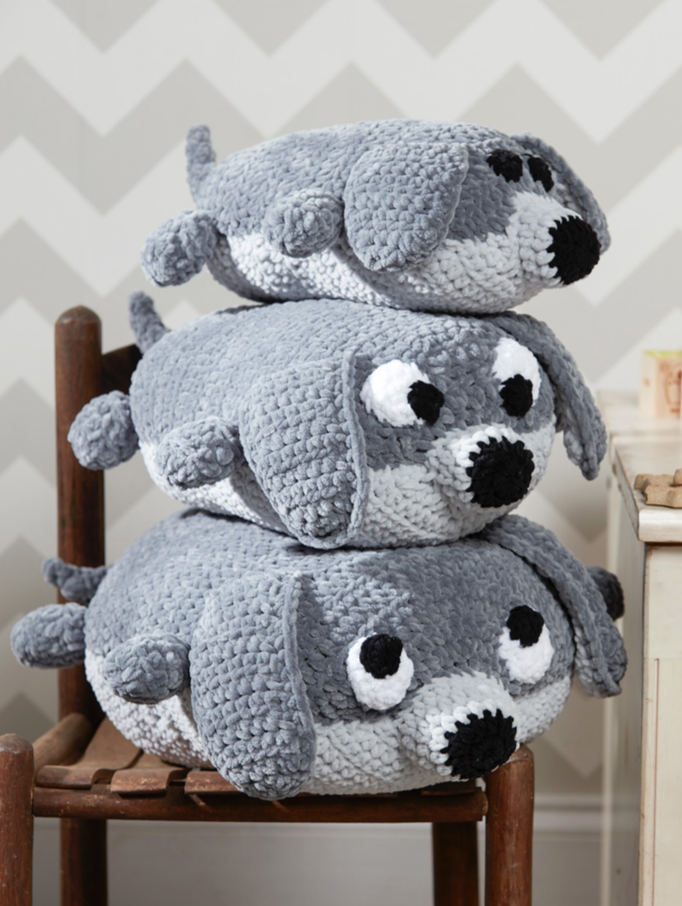 This Pile Of Puppies Free Crochet Pattern Is Perfect For Keeping Any Toddler Busy For Ages
