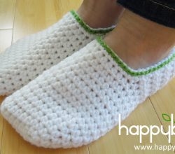 [Video Tutorial] Simple And Easy Crochet Slippers For Teens To Adult