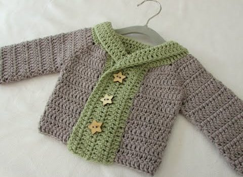 9bab97e7d65dd  Video Tutorial This Cute Children s Chunky Winter Sweater Is So  Comfortable To Wear And So Easy To Make