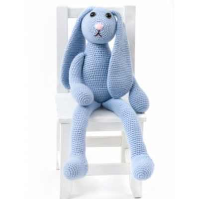 Gorgeously Huggable One Skein Crochet Bunny Pattern
