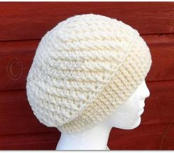 Easy Slouchy Hat Crochet Pattern With Beautiful Spirals