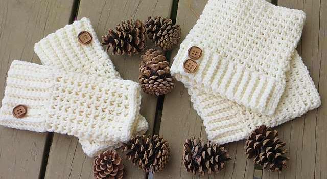 Make Your Comfy Cold Weather Crochet Boot Cuffs In Just A Couple Of