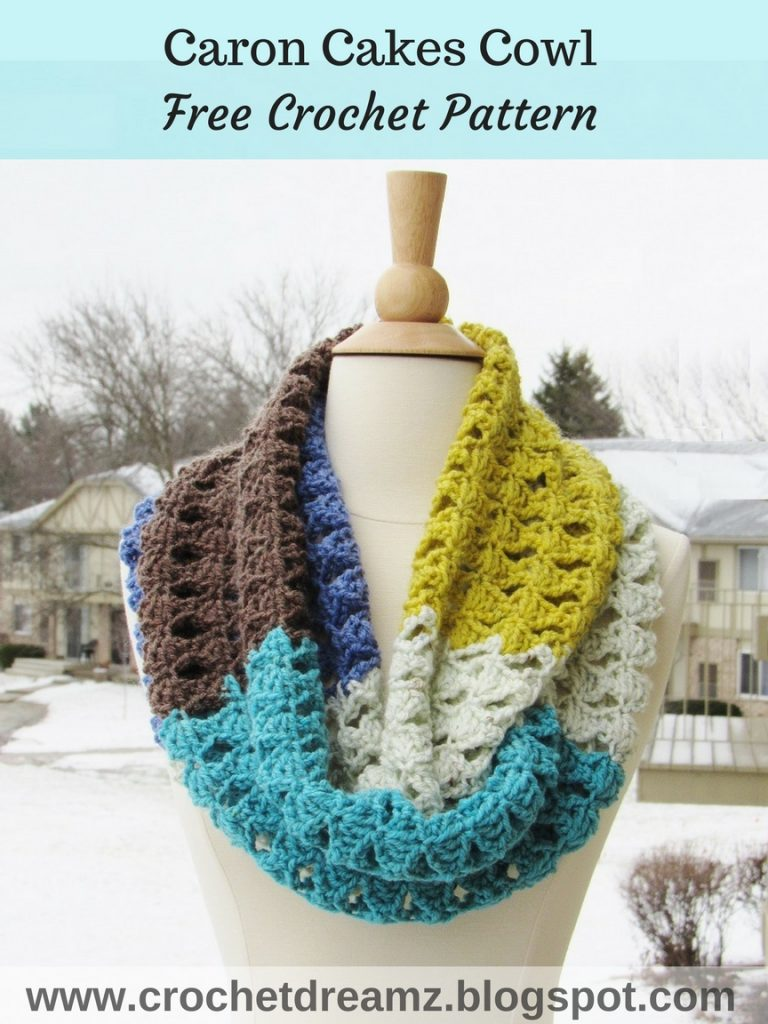 Wrap Up In Coziness With This Amazing Kaleidoscope Infinity Scarf