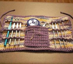 Clean Up Your Yarn Stash With This Easy Crochet Hook Case Pattern