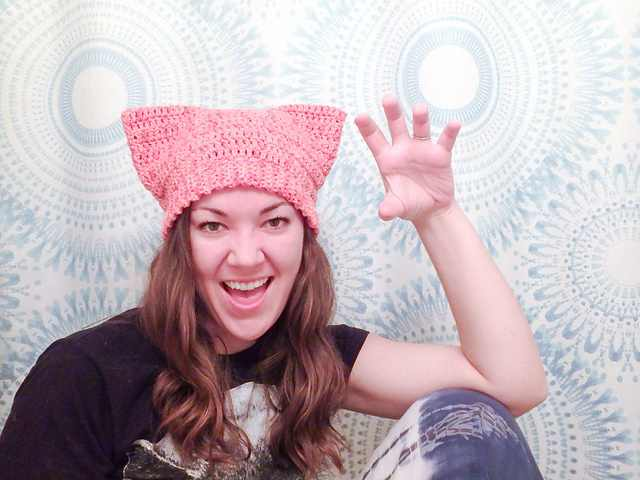 6 Adorable And Free Crochet Patterns For Cat Hats With Ears Knit