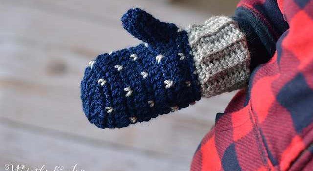 Free Pattern Easy Crochet Mittens To Keep You Warm And Cozy Knit