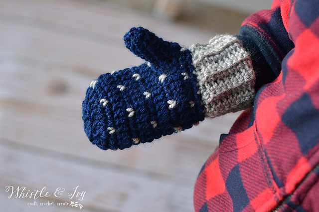 Easy Crochet Mittens To Keep You Warm And Cozy