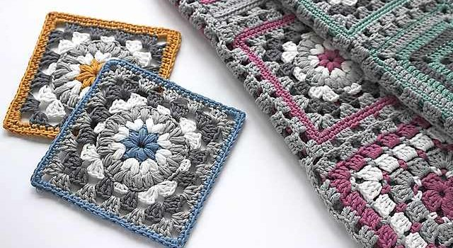 Stunningly Beautiful Triple Puff Granny Square Knit And Crochet Daily