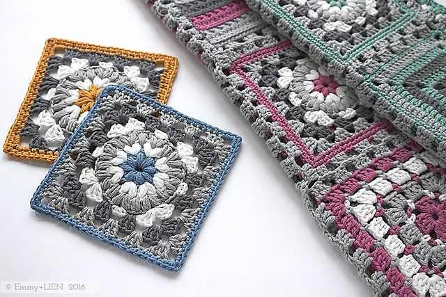 Stunningly Beautiful Triple Puff Granny Square