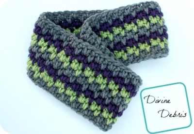 Easy Earwarmer Crochet Pattern