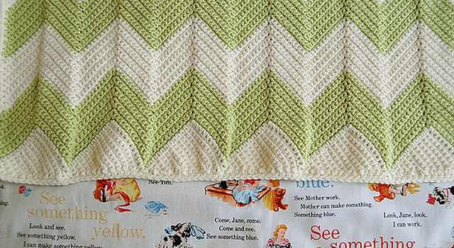 How To Crochet A Beautiful Chevron Blanket With A Straight Edge