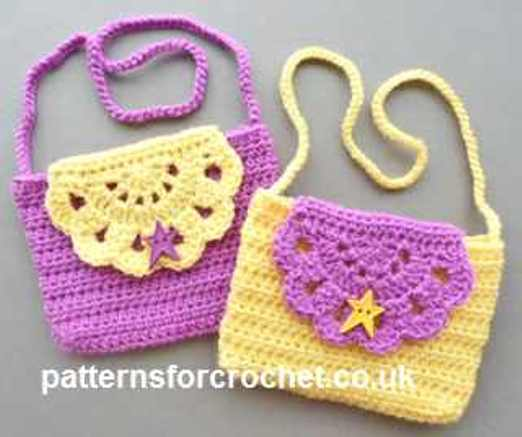 Super-Cute Crocheted Kids Handbag For A Mini-Fashionista