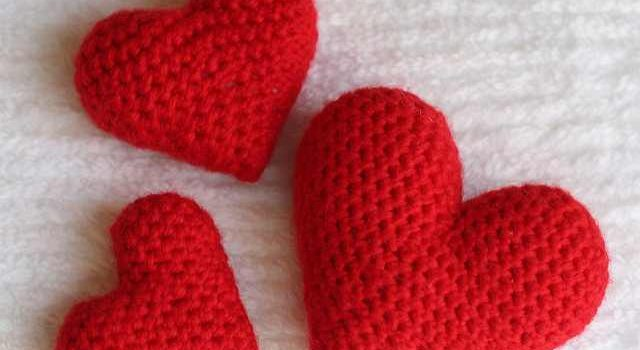 Super Quick And Easy Crochet Heart Amigurumi Pattern Knit And