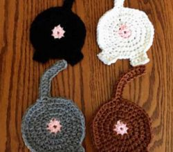 Cat Lovers! Decorate Your Home With These Fun And Adorable Cat Butt Coasters