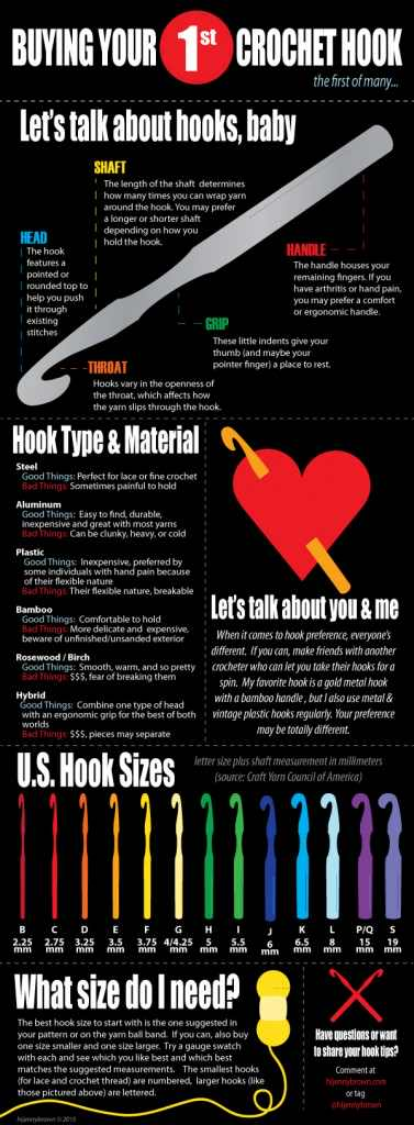 How To Choose Your First Crochet Hook: A Guide For Beginners