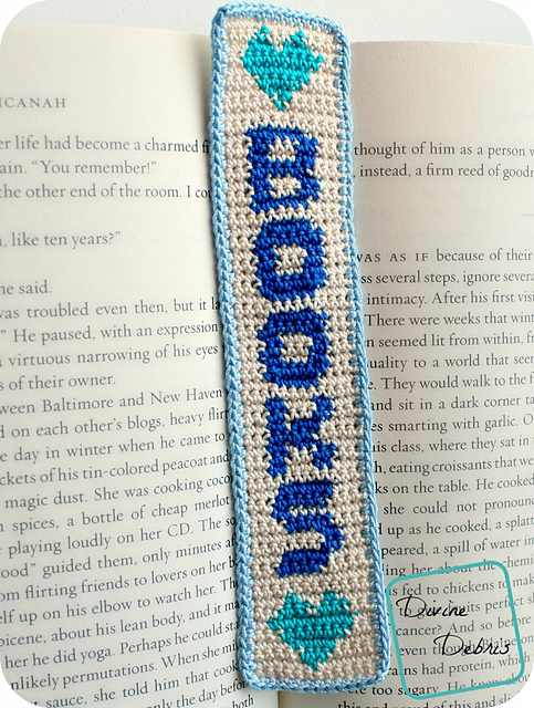 A Handsome Crochet Bookmark Is The Perfect Way To Mark Your Place In That Epic Novel