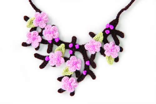 Cherry Blossom Necklace Is Absolutely Stunning!