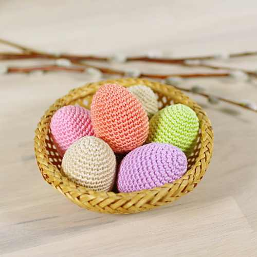 Amigurumi Easter Eggs Crochet Pattern : 14+Adorable Easter Crochet Patterns - Knit And Crochet Daily