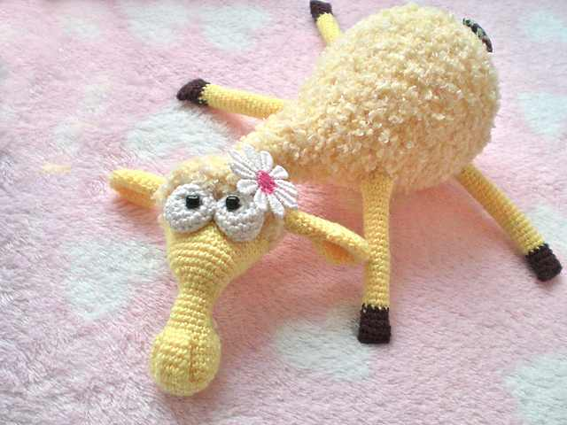 This Super Soft Sheep Amigurumi Fluffy Toy Will Bring Real Happiness To Any Child Or Adult
