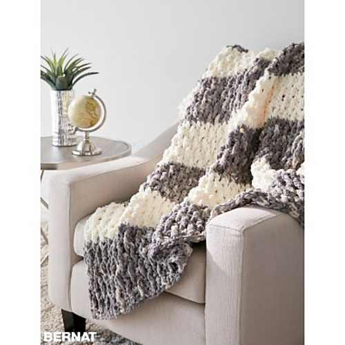 Quick And Easy Blanket Pattern With Eye Popping Texture