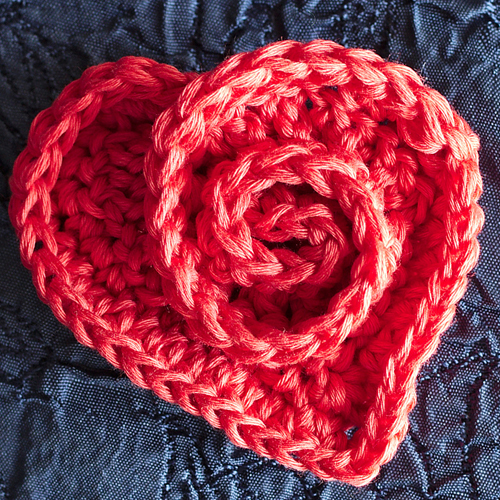 Lovely Little Rosy Heart Makes An Adorable Gift