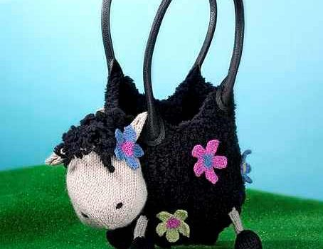 Adorable Crochet Sheep Bag For Carrying Your Stuff
