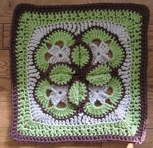 [Free Pattern] Super-Clever Starburst Afghan Block Pattern With Such An Interesting Design!
