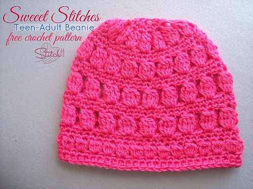 Charming Crochet Beanie For Teens And Adults
