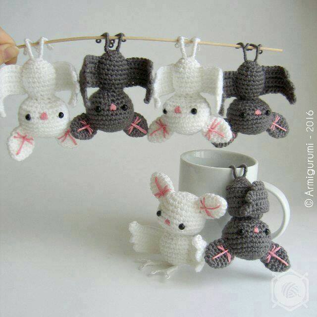 Widely Admired Amigurumi Bat Will Get You Lots Of Smiles