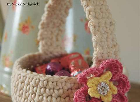 Delight Your Family With This Beautiful Crochet Easter Basket Knit Extraordinary Crochet Easter Basket Pattern