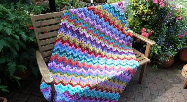 This Quick And Easy Granny Ripple Afghan May Just Become Your