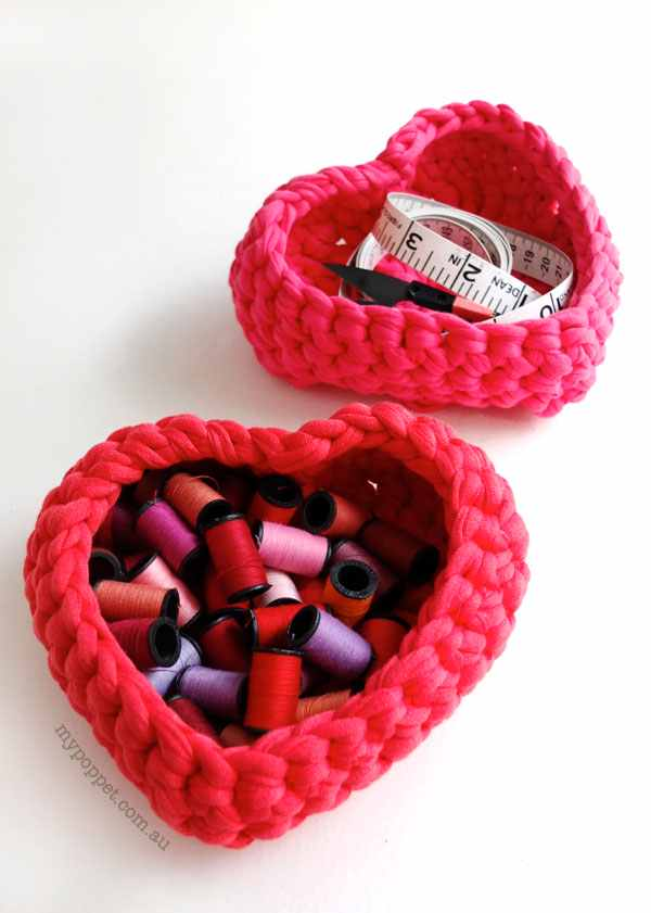 These Little Heart Baskets Are So Adorable!