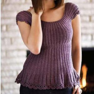 Fast And Easy Cap-Sleeve Top Works Across A Variety Of Sizes