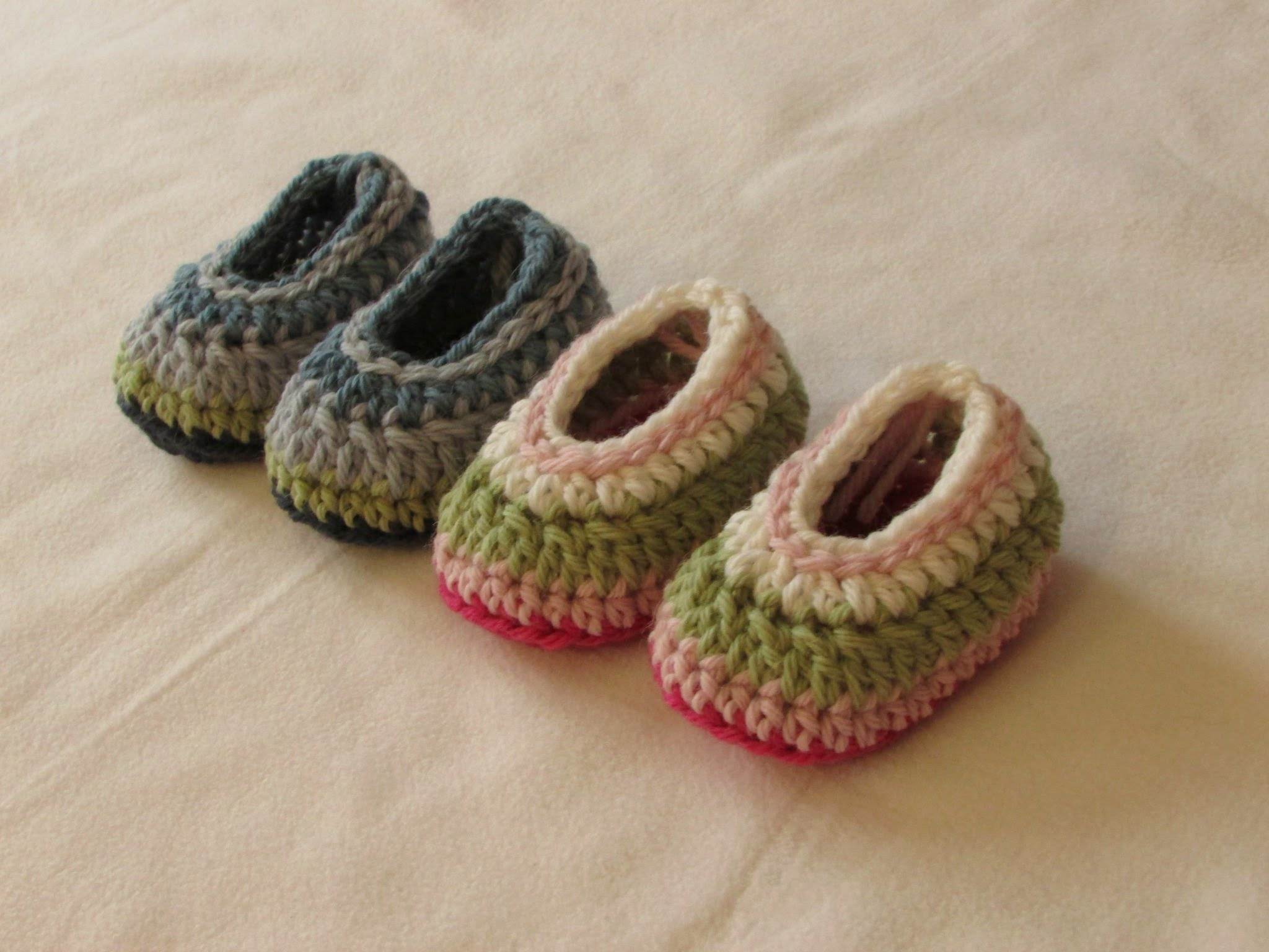 Quick And Easy Baby Booties Knit And Crochet Daily