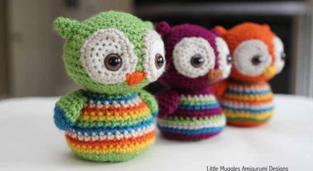 Cute Little Amigurumi Owl : These cute baby owls amigurumi will make you the best gift giver