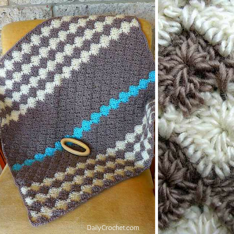 Simple And Addictive Baby Blanket Pattern