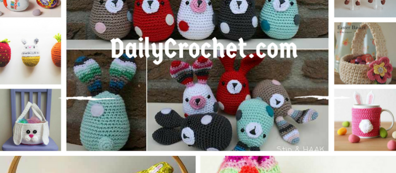 14adorable Easter Crochet Patterns Knit And Crochet Daily