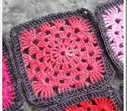 Granny Squares Patterns Archives - Knit And Crochet Daily