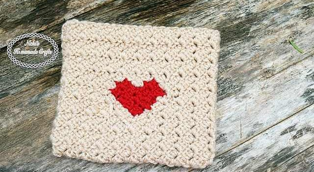 Chic And Functional Crochet Heart Envelope Knit And Crochet Daily