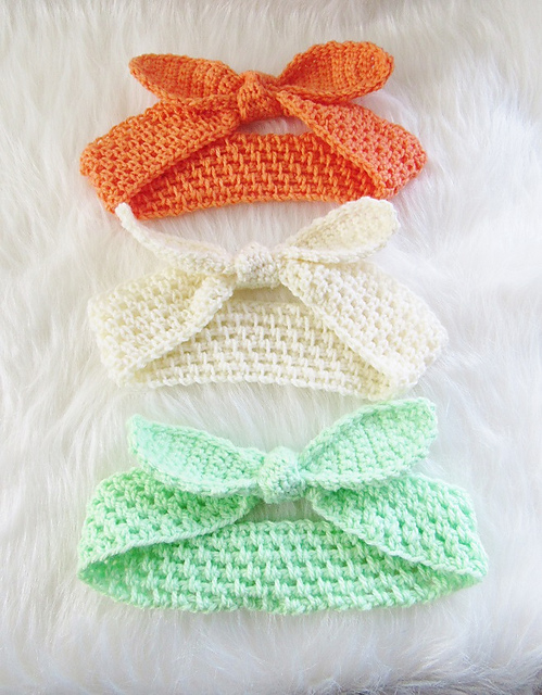 Best Fitting Crochet Headband Ever! - Knit And Crochet Daily
