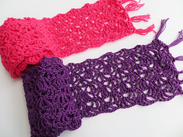 The Perfect Lacy Scarf Crochet Pattern For Spring And Summer