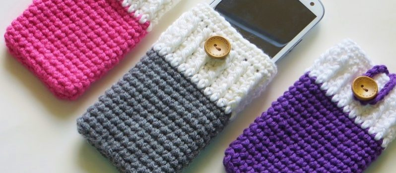 Free Pattern The Best Crocheted Phone Case You Will Ever Find