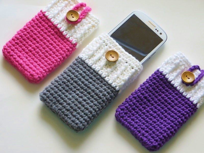 The Best Crocheted Phone Case You Will Ever Find