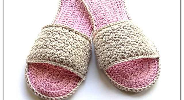 Super Easy Slippers Crochet Pattern For Spa Days Knit And Crochet