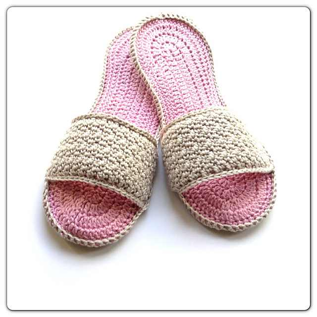 Super-Easy Slippers Crochet Pattern For Spa Days