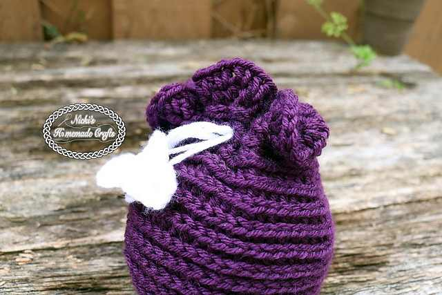 This Cute Crochet Candy Bag Makes A Perfect Gift That Can Be Used Year Round