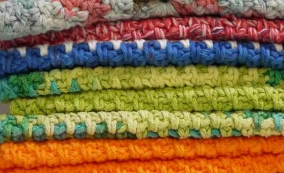 Simple And Beautiful Crochet Dishcloth Free Pattern Knit And