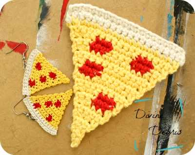 Pizza Slice Earrings For All The Ladies Who Love Foodie Jewelries