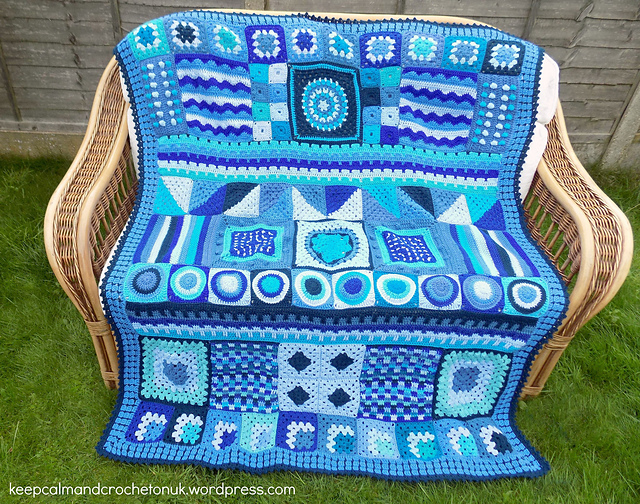 Super-Cool & Groovy Crochet Afghan Pattern