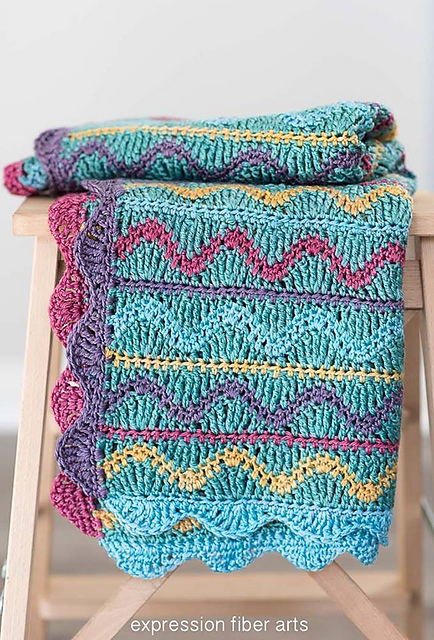 Cuddly-Soft Squiggles Baby Blanket